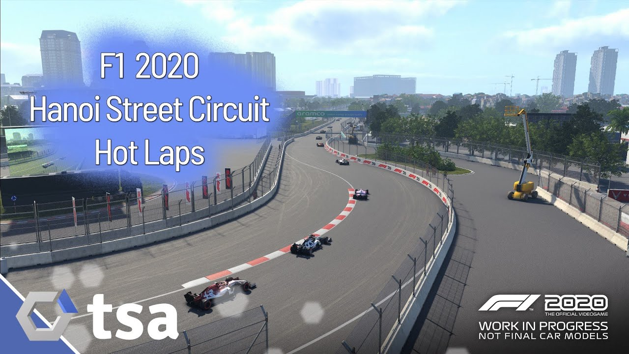F1 2020 – Six laps round the Vietnam GP Hanoi Street Circuit