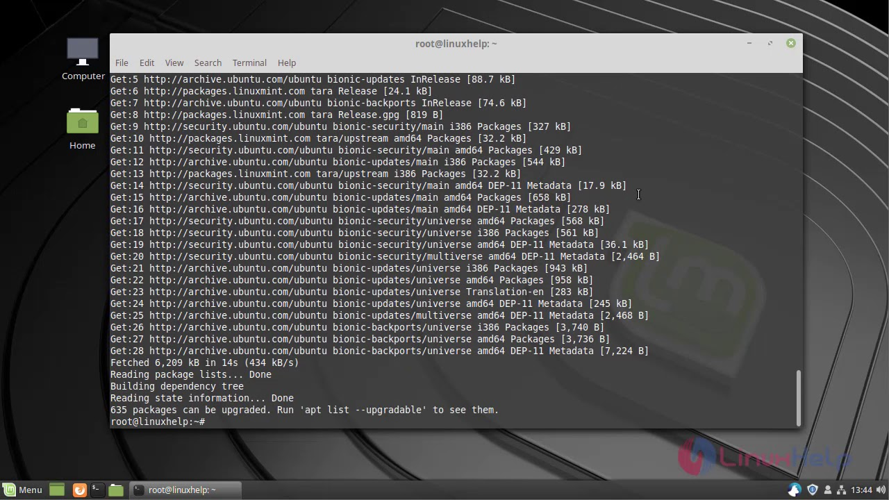 How to Install Ghostscript on Linuxmint 19   LinuxHelp Tutorials
