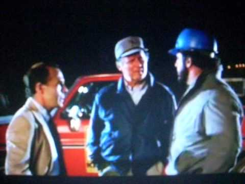 Lyle Alzado kicks a family out of their home in Ernest Goes To Camp