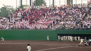 第101回全国高校野球選手権群馬県大会にて 「燃えろ広陵」の前商Ver. この試合 猛打賞ともなった、 ショート齊藤の応援歌   ・