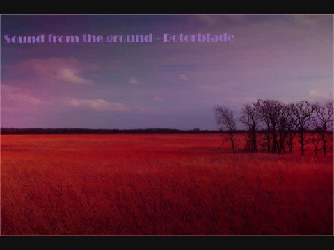 Sounds from the ground - Rotorblade