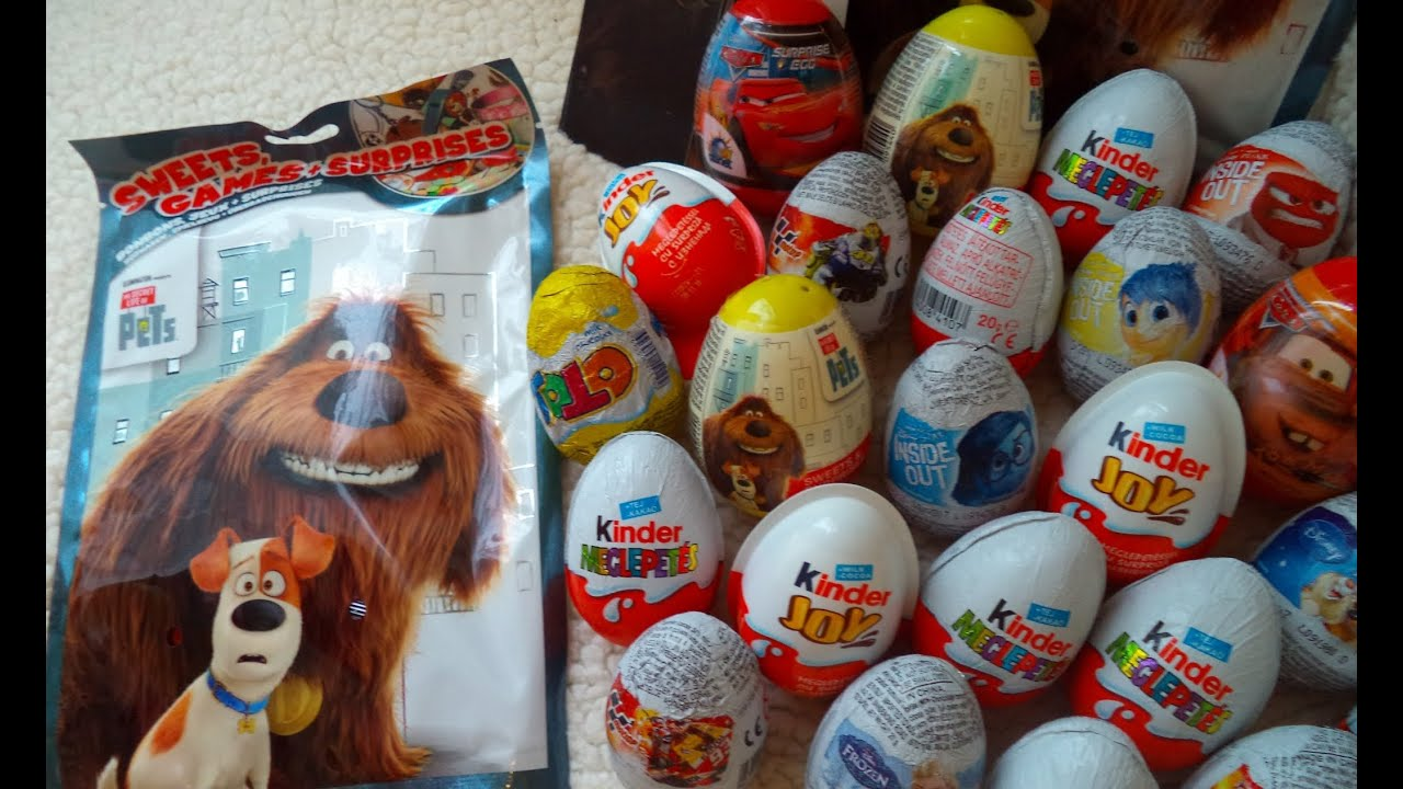 Surprise eggs secret life of pets starwars kinder for Tattoo secret life of pets