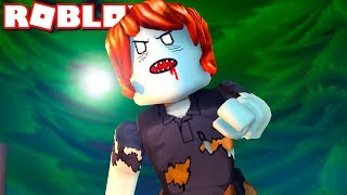She Turned Into A Zombie! ( A Sad Roblox Zombie Outbreak Movie Part 3)