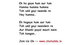 Humma Humma song lyrics