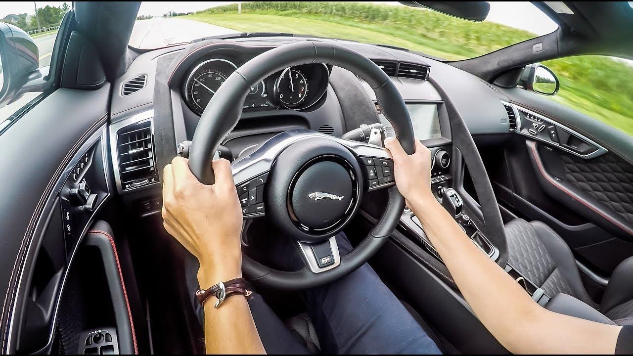 2019 Jaguar F Type Svr Exhaust Notes