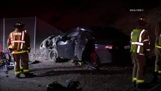 Woman Killed After Crash On I-15 Freeway 8/11/2019