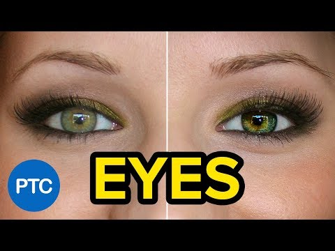 SEVEN Techniques To Create AMAZING Eyes in Photoshop - Eye Enhancement Photoshop Tutorial