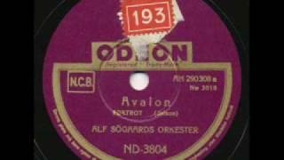 Alf Søgaards Orkester, Avalon. Norway 1941