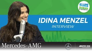 Idina Menzel Talks Adam Sandler Oscar Buzz For 'Uncut Gems' | Elvis Duran Show