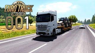 ETS 2 🚚 [001] Neu auf der Straße 🚚 Let's Play Euro Truck Simulator 2 deutsch