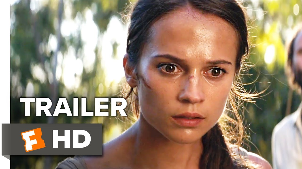 Tomb Raider Trailer 2 2018 Movieclips Trailers Youtube