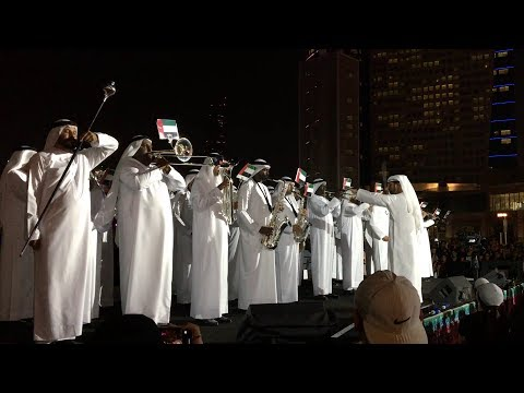 Indian National Anthem Played by Dubai Police | UAE and INDIA Friendship