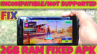 Fortnite Android 2gb ram devices fix without root