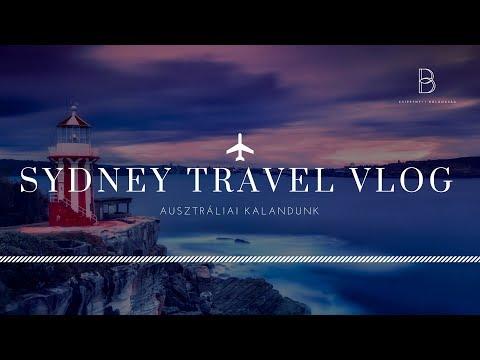 TRAVEL VLOG // SYDNEY-AUSTRALIA // Csipetnyi Boldogság
