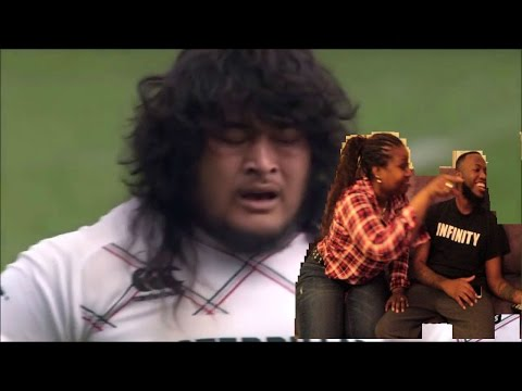 MOST FEARED SAMOAN PLAYERS (MOM REACTS) RUGBY
