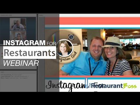 Instagram for Restaurants Webinar