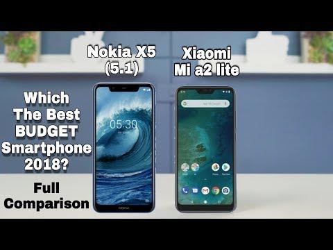 Nokia X5 (5.1) Vs Xiaomi Mi a2 Lite Full Comparison - Which one Should you buy in 2018??