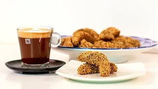Cornes de Gazelle Saveur Café - CookingWithAlia & Nespresso - Episode 389