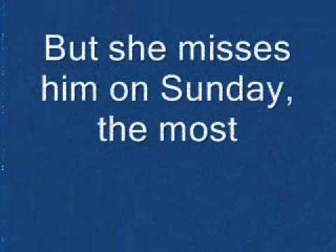 She misses him lyrics