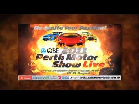 PERTH MOTOR SHOW 'LIVE' 2011