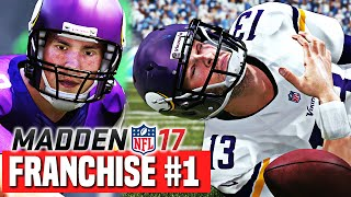 Madden 17 Vikings Franchise Ep.1 - It s Sam Bradford Time (Y1W1)