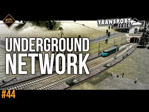 Building the underground system in Transport Fever The Alps #44