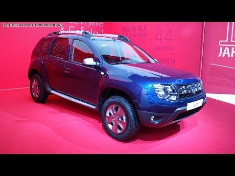 new dacia duster 4wd tce 125 2015 geneva motor show youtube. Black Bedroom Furniture Sets. Home Design Ideas