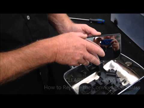 HOW TO Replace The Convex Mirror Glass  |  Towing Mirrors  |  Clearview Accessories