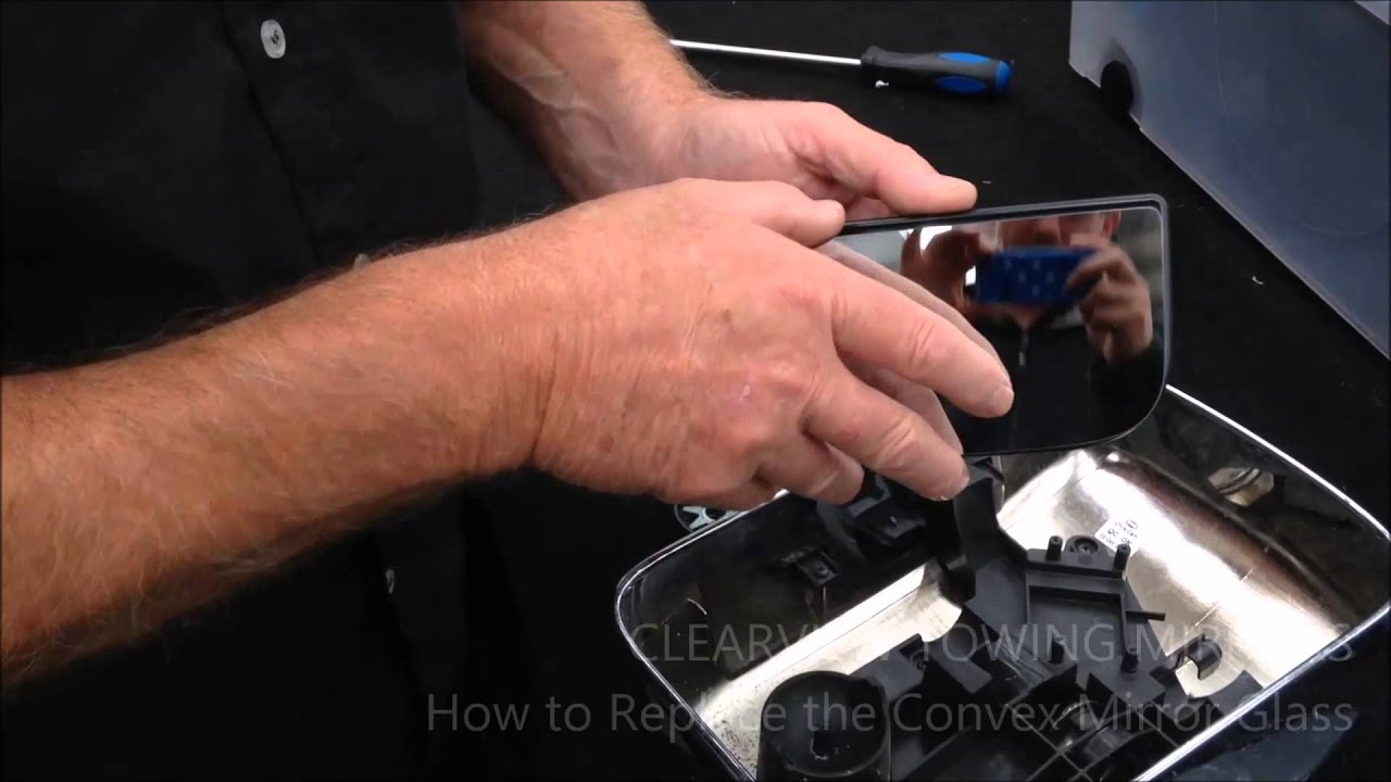 How To Replace The Convex Mirror Glass