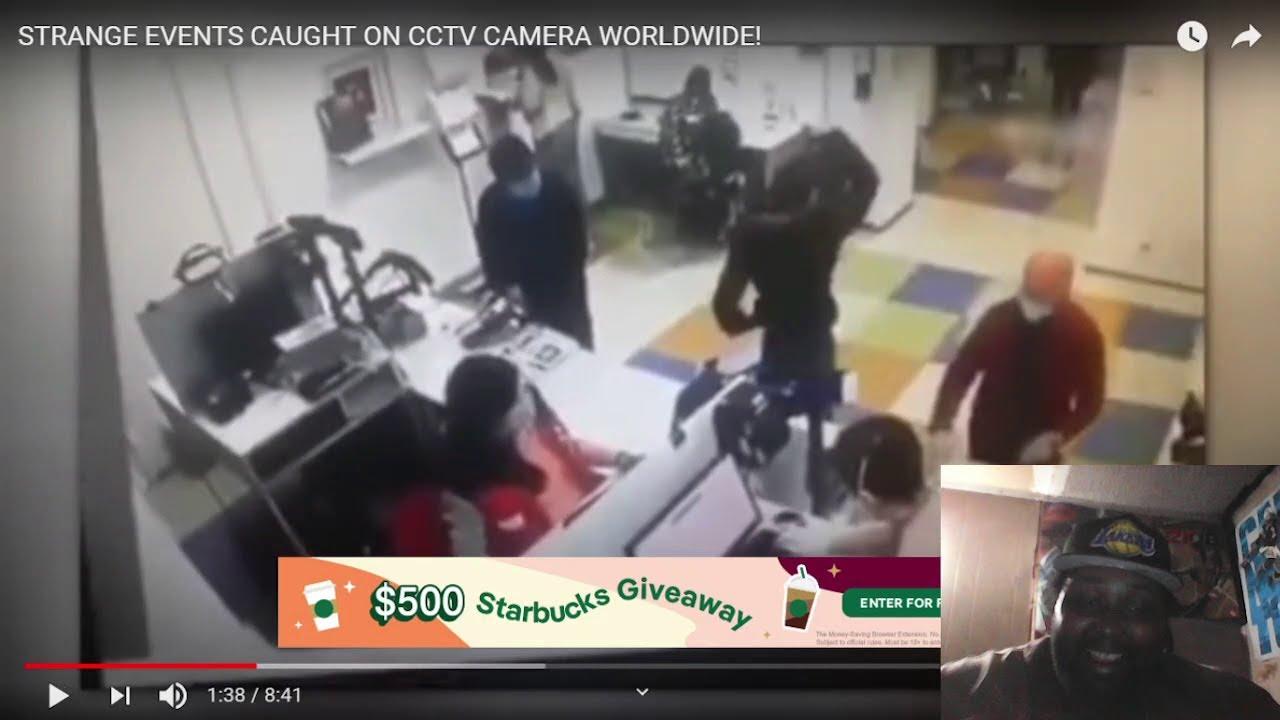 Strange Events caught on CCTV Worldwide Reaction