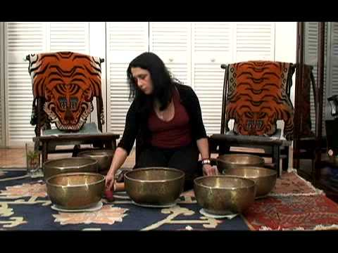 Singing Bowl Meditation: Crown Chakra Set