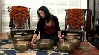 Singing Bowl Meditation: Crown Chakra Set