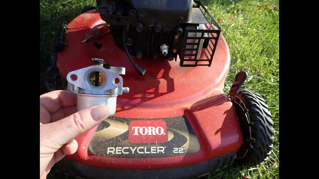 Toro Recycler Lawn Mower Model 20334 Diy Carburetor Repair Not Running Correctly Nov 11 2016