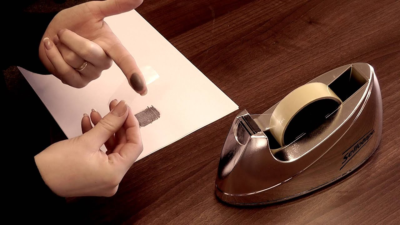 How to take a Fingerprint for Jewellery