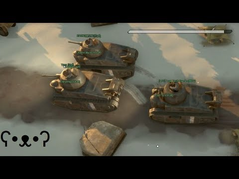 Tank Squad Solace - Foxhole (w/ Low Tech Gaming)