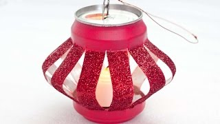 How To Make An Innovative Soda Can Lantern - DIY Crafts Tutorial - Guidecentral