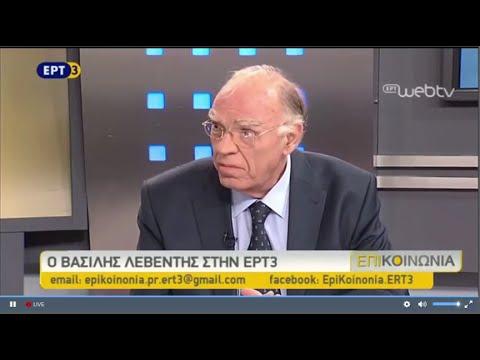 """Βασίλης Λεβέντης - """"ΕπιKοινωνία"""" (ΕΡΤ3, 08/06/2016)"""