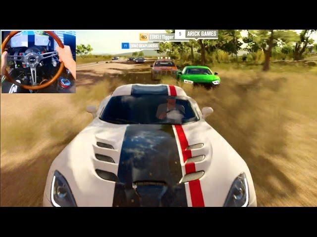 Forza Horizon 3 Gopro Catch Me If You Can Sim Damage Ep1 Slaptrain