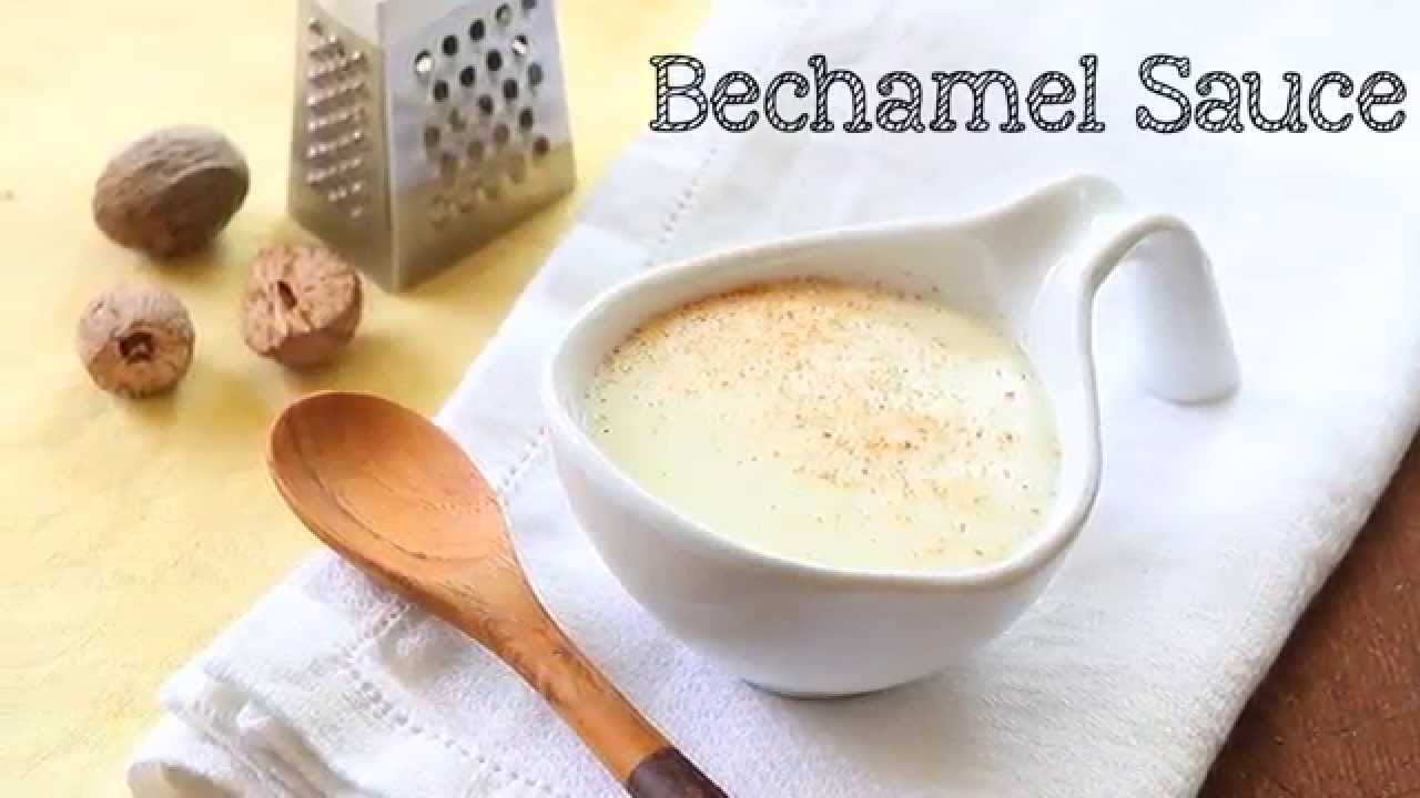 Easy bechamel sauce or white sauce recipe from scratch youtube