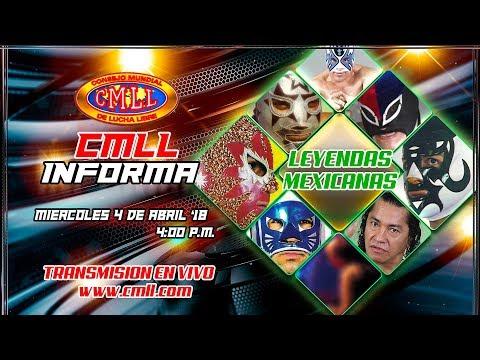 CMLL INFORMA 4 DE ABRIL DE 2018
