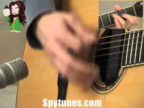 Redemption Song Rhythm Guitar Lesson
