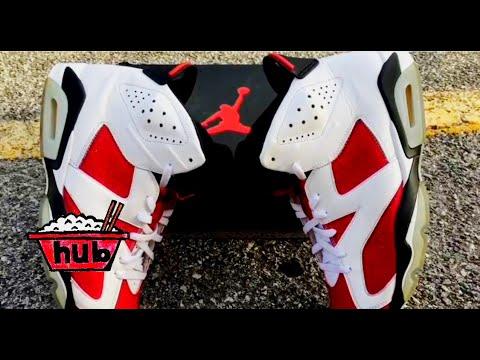 How to restore Air Jordan 6 Carmine 2014 Tutorial