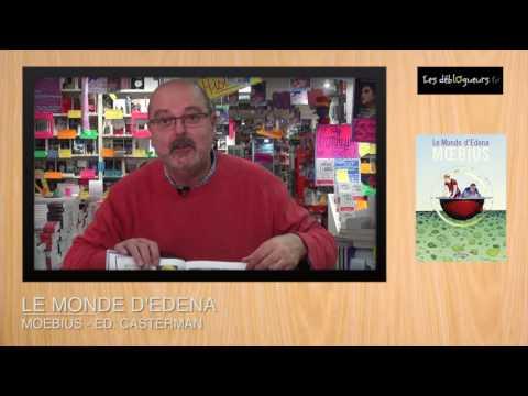 (BD) La chronique de Jean-Edgar Casel - Le monde d'Edena