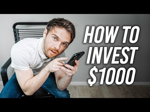 How To Invest Your First $1000 (Using Robinhood)