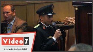 حضور ندوة يستحسنون صوت طالب بكلية الشرطة فى قراءة سورة