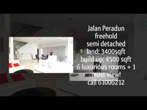 New Listing! singapore landed for sale  video -huge freehold semi d in seletar hills estate