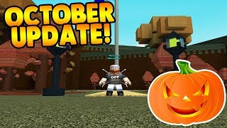 *NEW* OCTOBER UPDATE IS OUT! | Build A Boat For Treasure ROBLOX