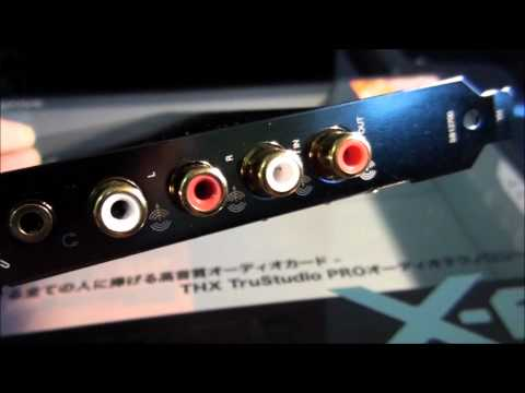 Soundblaster X-Fi Titanium HD Overview