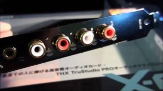sound Blaster X Fi Titanium HD с авито, обзор звуковой карты аудиофильского уровня!