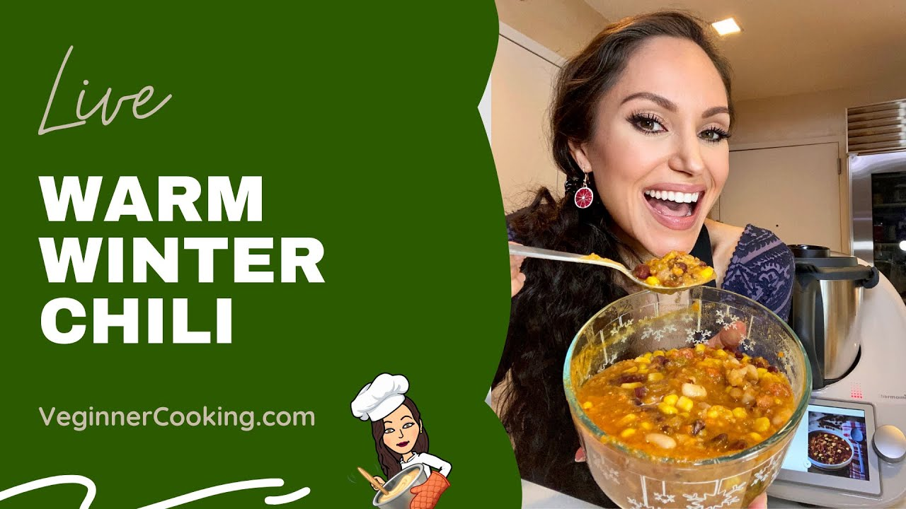 Three Bean Chili Recipe 𝑳𝒊𝒗𝒆 How To Make The Best Vegan Chili In 3 Easy Steps Thermomix Tm6 Youtube